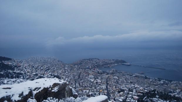 χιόνια Καβάλα