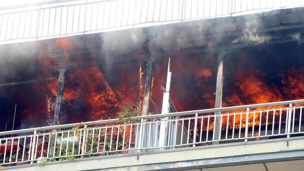 πυρκαγιά διαμέρισμα