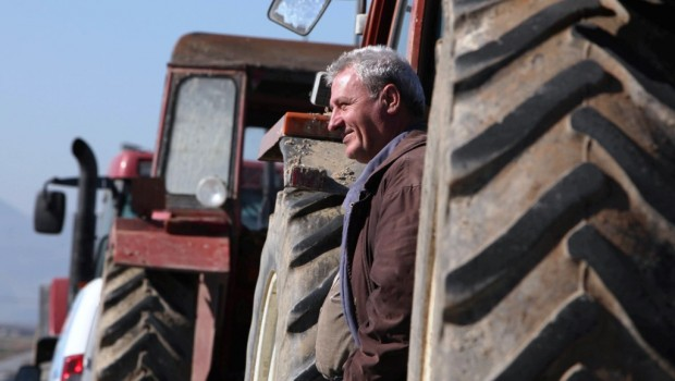 αγρότες τρακτέρ