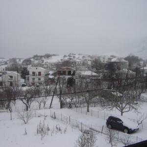 Σαμοθράκη χιόνια