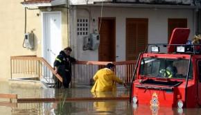Πλημμύρες πυροσβεστική