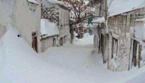 χιόνι Σαμοθράκη