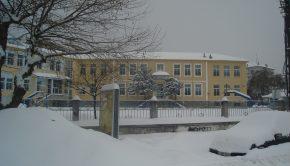 σχολείο χιονια