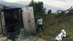 λεωφορειο ατύχημα