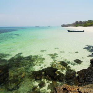 Playa en Isla Viveros / Archipielago de Las Perlas