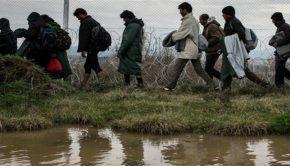 λαθρομετανάστες συνορα