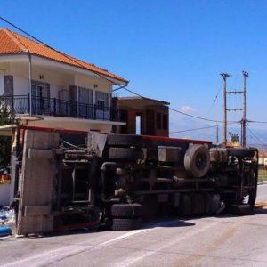 φορτηγο, ατύχημα