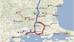 Πρόταση για σιδηροδρομική σύνδεση Κομοτηνή-Ποντκόβα-Ρούσε (1)