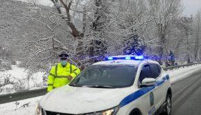 ελασ αστυνομια χιονια