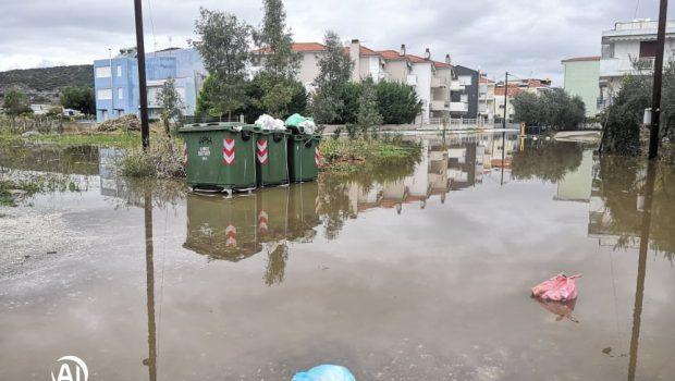 Νέα πέραμος πλημμύρες